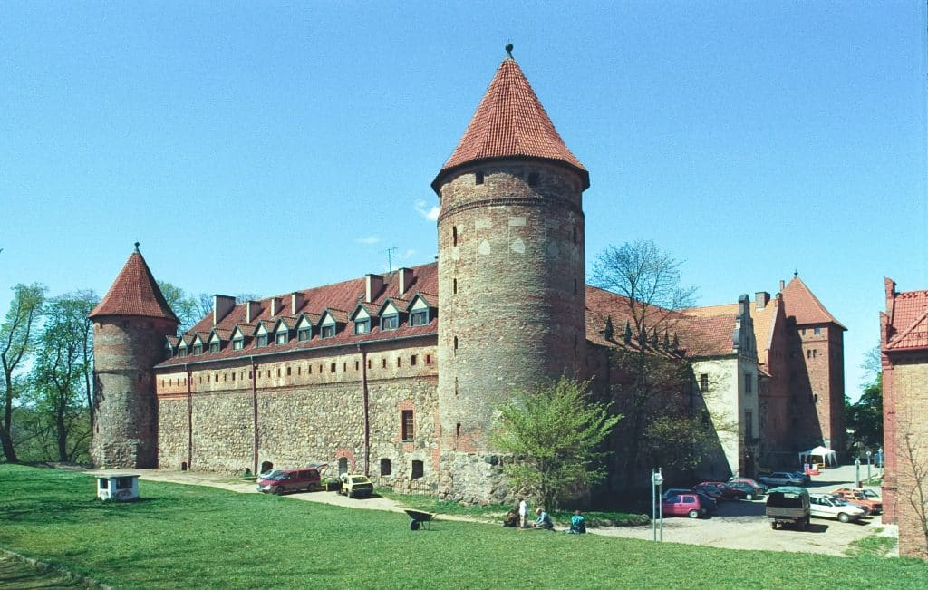 Okolice Słupska: Zamek Krzyżacki w Bytowie