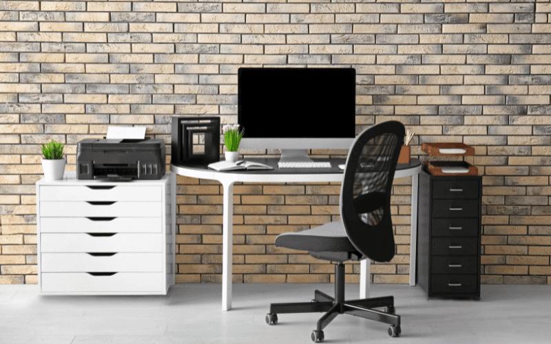 Mobilna drukarka home-office.
